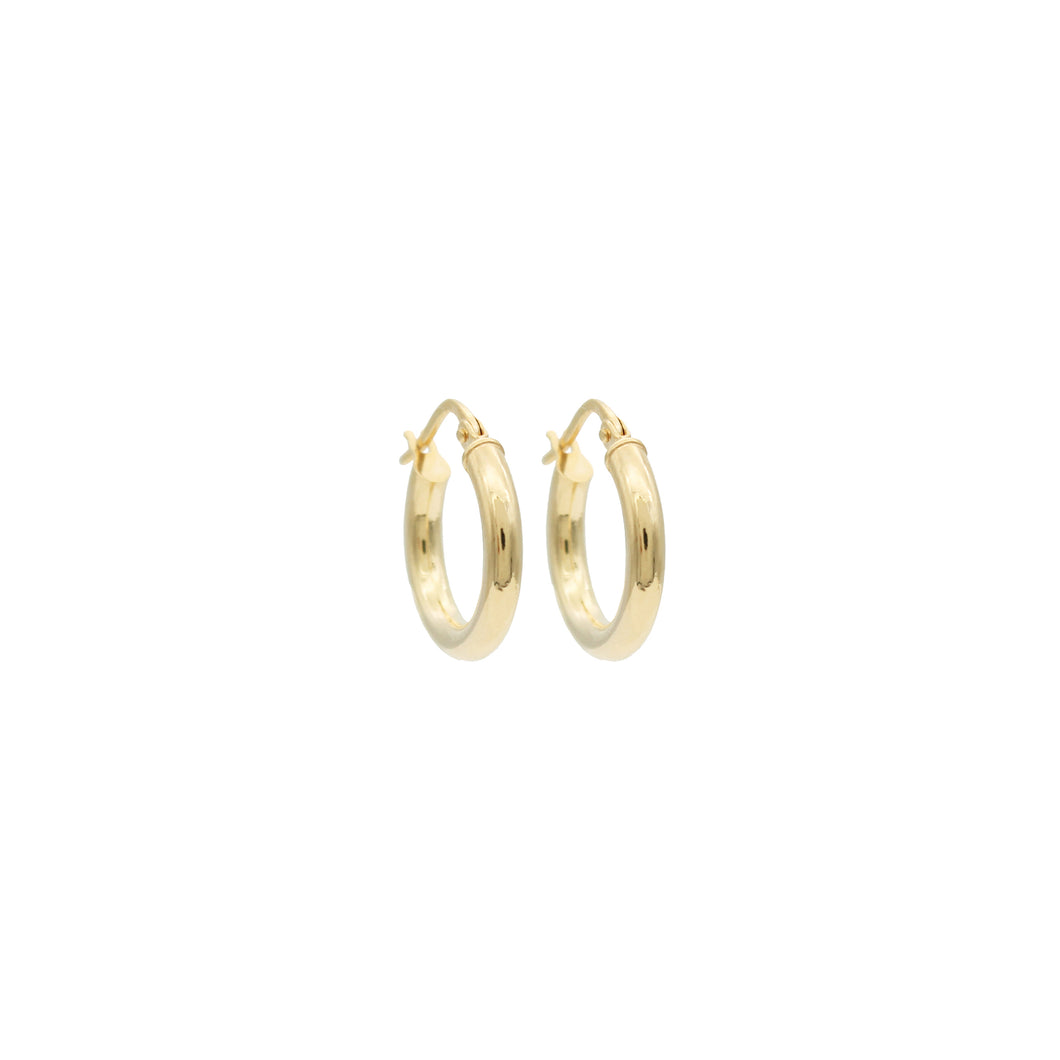 9ct Gold Hoopy Hoops