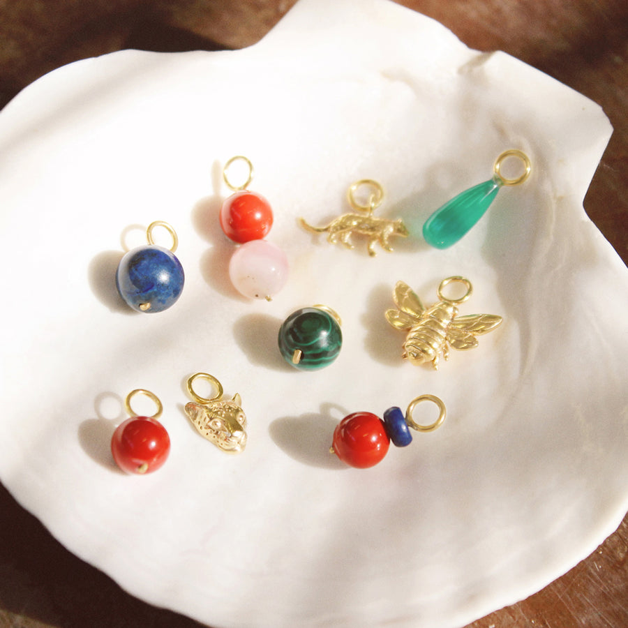 Shell Coral Charm
