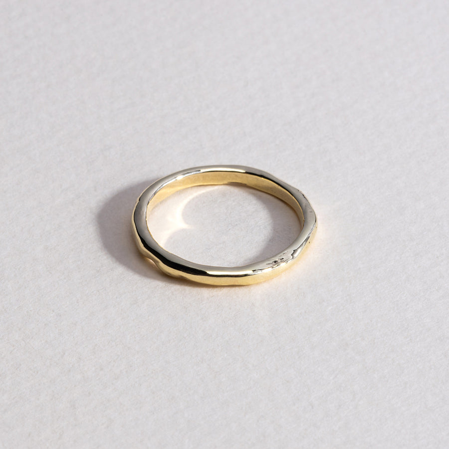 Keeper Stack Ring - 9k Gold