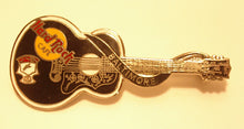 BALTIMORE black dead Rocker Elvis Presley styled acoust B16-103 hrc enamel pin Collectible-Very Good