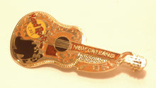 NEW ORLEANS brown & gold Gibson Acoustic
