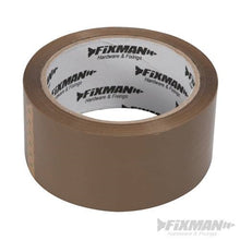 X10 FIXMAN 190368 Brown Adhesive Packing Tape 48mm x 66m £9.99