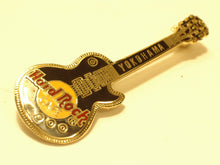 YOKOHAMA BLACK LES PAUL 1997 HARD ROCK LOGO 3 LINES-B16-256 hard rock cafe pin
