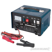 Silverline 268317 Battery Charger 12/24 V for 12-70 Ah Batteries