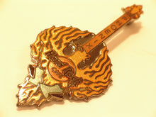 Small Phoenix Firebird Shaped Guitar HARD ROCK CAFE enamel PIN B16-282 mint 2001
