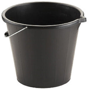 X 3 TML 3 Gallon Bucket Black Sold by Ashcraft UK