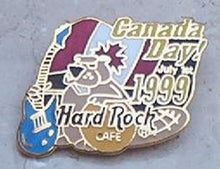 Canada Day 1st July 1 1999 CANADA FLAG PIN HARD ROCK CAFE PIN B 4-2A-311Vintage