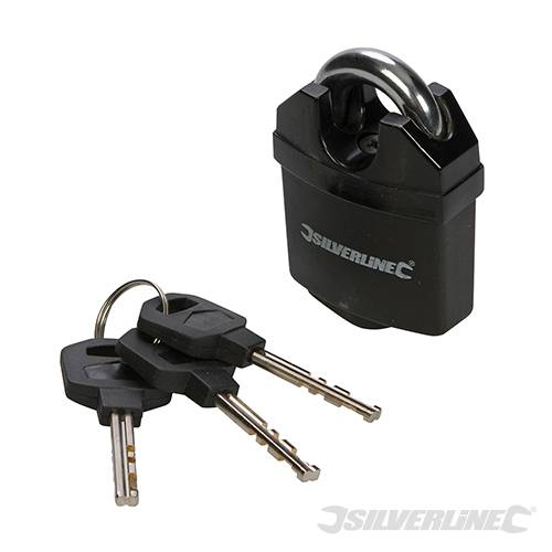 PADLOCK 50MM CLOSED SHACKLE 427623 By SILVERLINE
