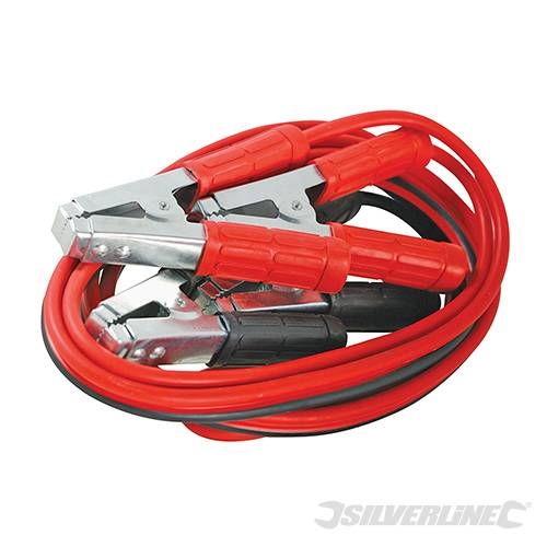 Silverline 456956 Jump Leads Heavy Duty 600A max