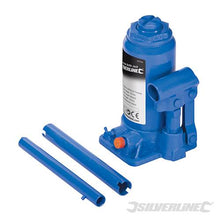 Silverline 457050 Hydraulic Bottle Jacks 6 Tonne