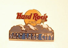 SALT LAKE CITY B15 A-48 HARD ROCK CAFE enamel PIN MINT condition hrc logo 2 line
