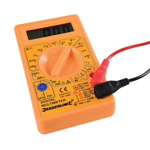 Silverline 589681 Digital Multimeter AC and DC