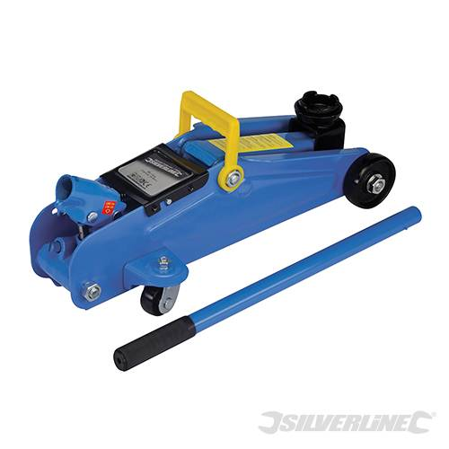 Silverline 633935 Hydraulic Trolley Jack 2 tonne
