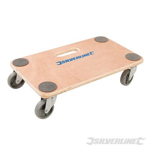 647896 Silverline General Purpose Platform Dolly Size 300 x 500mm 150kg