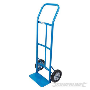 Silverline 667315 Steel Sack Truck Trolley 120kg Load Capacity