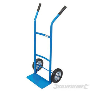 Silverline 667325 Steel Sack Truck Trolley 100kg Load Capacity