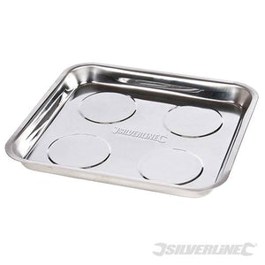 Silverline 675273 Magnetic Parts Tray, 270 x 292 mm