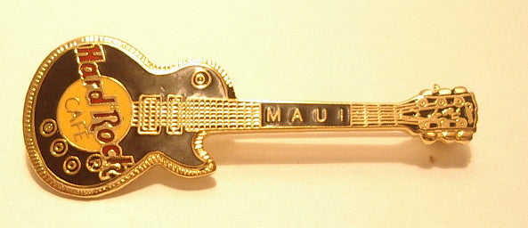 Maui  Hard Rock Café enamel PIN  B 19 -69 music Vintage collectible memorabilia