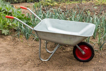 Ambassador Boxed Galvanised Wheelbarrow 80L Sold by Ashcraft UK