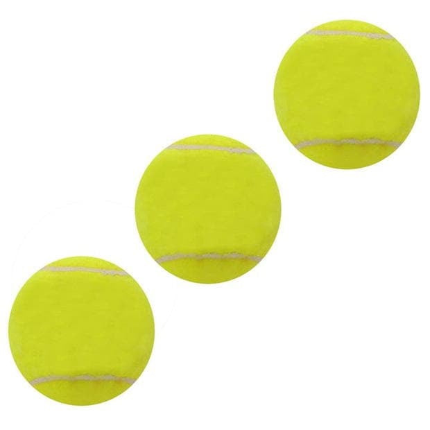 Mixed 3 Pack Tennis Balls Perfect for training or recreational players, perfect for playing in the garden or park