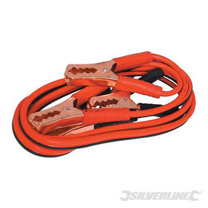 Silverline 857328 Jump Leads 200 A Maximum 2.2 m