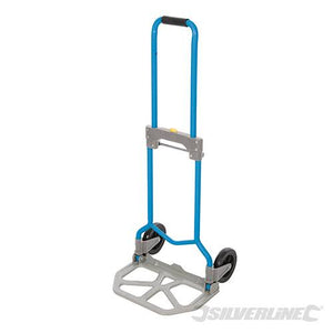 Silverline 872993 Steel Folding Hand Truck 60kg
