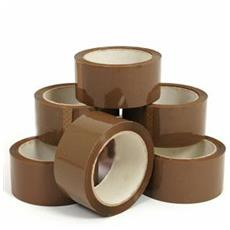 X 36 Rolls Buff Brown packing 48 X 66 M Parcel carton sealing tape from £0.44 P
