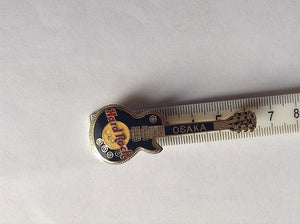 OSAKA Japan Les Paul Hard Rock Cafe PIN BADGE B6-186 Vintage, Collectible