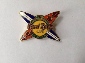 LA JOLLA 10TH ANNIVERSARY B3-57-4390 Vintage pin badge collectables Hard Rock Cafe
