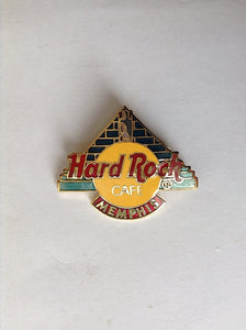 MEMPHIS Logo with Pyramid B15A-4459(B4-87) HARD ROCK CAFE COLLECTORS PIN