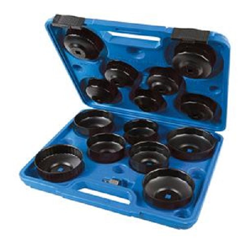 Oil Filter Wrench Set 15pce 65 - 93mm 952159 £ 25.31
