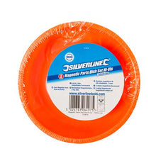 Silverline 379878 Magnetic Parts Dish Set Hi-Vis, 150 mm Diameter - 3 Pieces