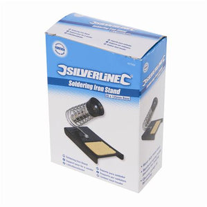 Silverline 427552 Soldering Iron Stand Base, 85 x 125 mm