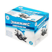 Silverline 845135 - 1200W 185mm DIY Circular Saw 230V