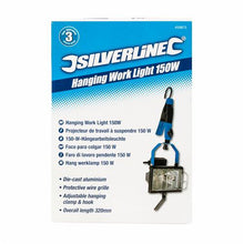 Silverline 459873 150W Hanging Work Light 240 Mains 1800 Lumens