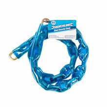 Silverline 675170 Hardened Steel Security Chain with Sleeve 1200 x 7mm