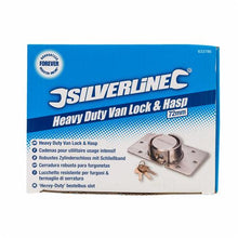 Silverline 633786 Heavy Duty Van Lock & Hasp 73mm