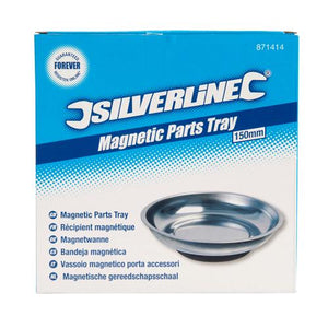 Silverline 871414 Magnetic Parts Dish, 150 mm
