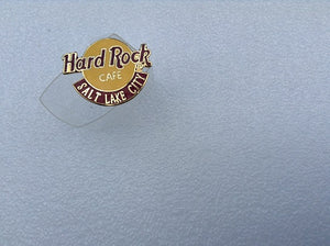 Salt Lake City B18-8092 Small Logo HARD ROCK CAFE PIN Collectible-Very Good