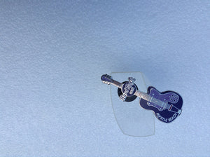 Myrtle Beach Mini Guitar Series - 2 tone purple guitar (# 5934B18) HARD ROCK PIN