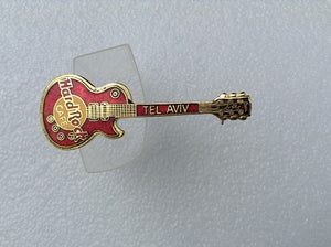 Tel Aviv Red Les Paul - vertical - 3LC Red Les Paul Vertical Guitar B19-21-05HRC
