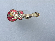 SACRAMENTO  red dead Rocker Eddie Cochran styled Gretsch - LC Collectable   B 19-182   Collectable