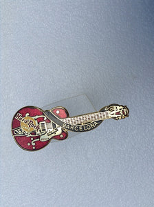 Barcelona red dead Rocker Eddie Cochran styled Gretsch - LC Collectable   B 19-136