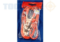 Quality 200 Amp 2.4 Meter Jump Leads AU230 Auto-Workshop Essentials New Price Drop £7!