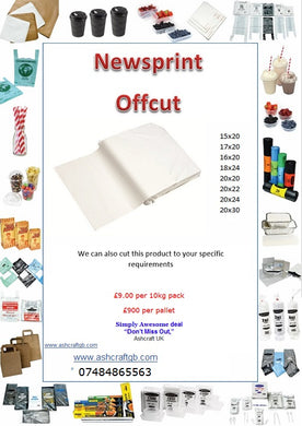 Newsprint Offcut Special Offers