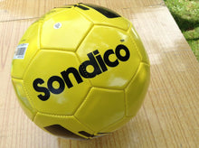 Sondico Football Size 5 Yellow/Black Ideal for team training sessions and sporting events