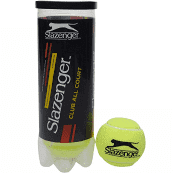 Slazenger Club All Court Tennis Balls  3 ball pressurised tube sold by Ashcraft UK