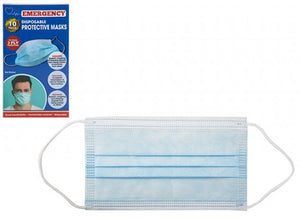 DISPOSABLE FACE MASKS PACK OF 10 £3.50 price drop now only £3!