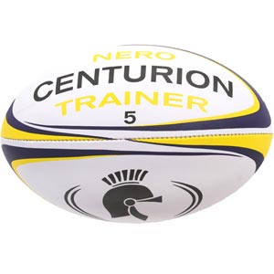 The Centurion Nero Rugby Training Ball is a quality training ball suitable for all levels.