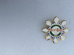SNOWFLAKE PIN WITHOUT LOCATION Hard Rock Cafe Pin B11-433 Sold by Ashcraft GB